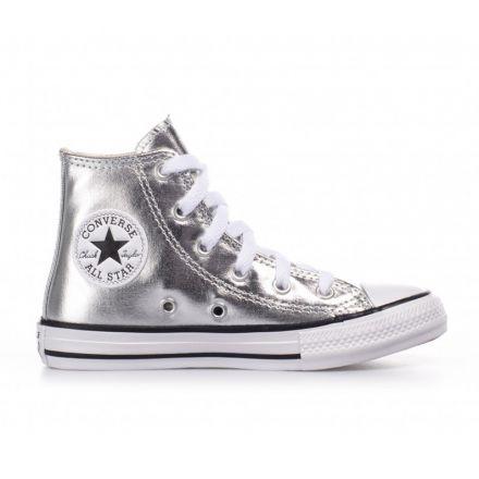 נעלי CONVERSE גבוהות בד לילדות