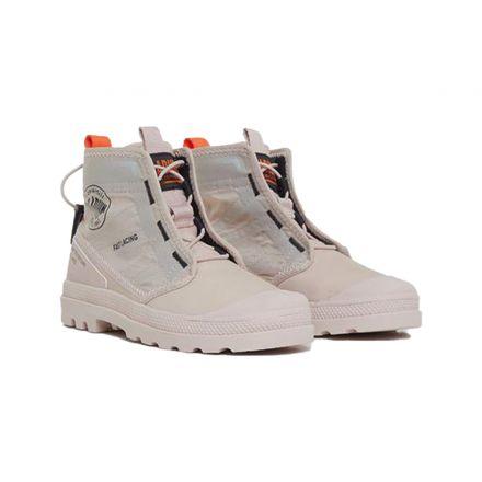 נעלי PALLADIUM PAMA TRAVEL B גזרה גבוהה לוגו בצד לילדות