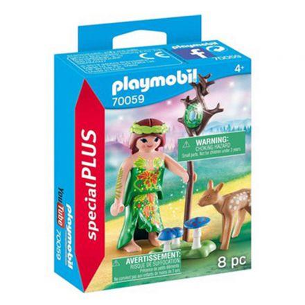 פייה ובמבי (גילאים +4) Playmobil 70059