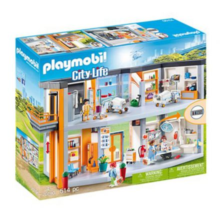 בית חולים ענק (גילאים +4) Playmobil 70190