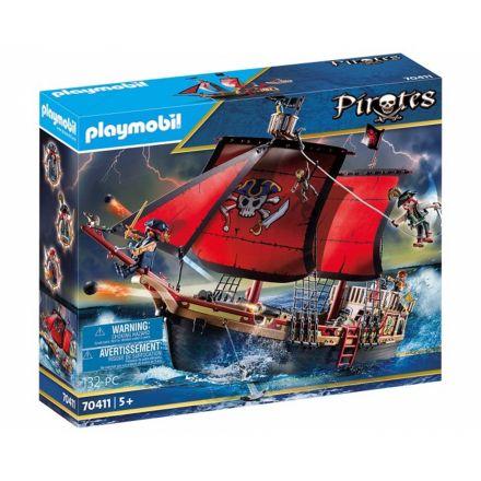 ספינת פיראטיים (גילאים +5) Playmobil 70411