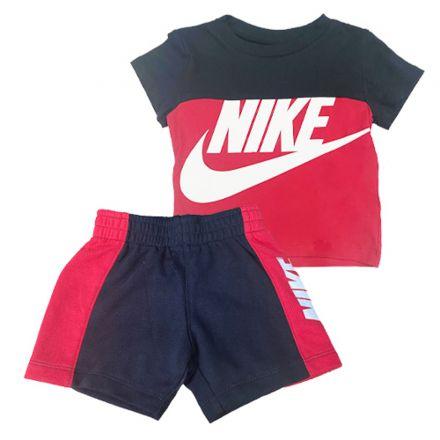 חליפה NIKE לילדים אדום שחור
