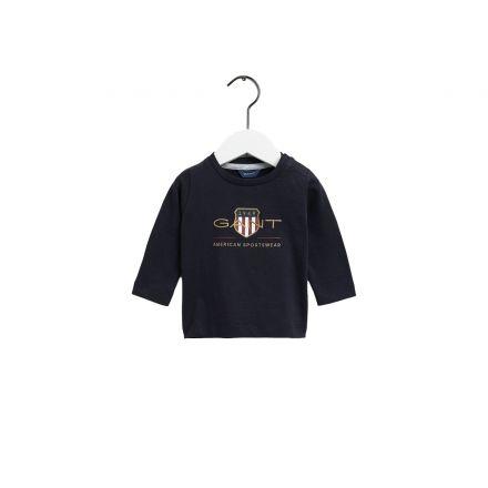 חולצת טישירט שרוול ארוך GANT 1949 לתינוקות