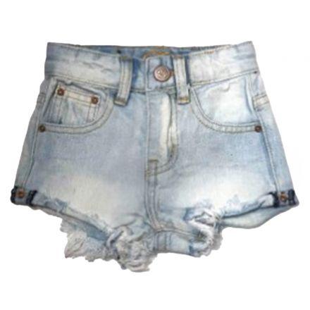 ג'ינס ORO לילדות שורט קלאסי