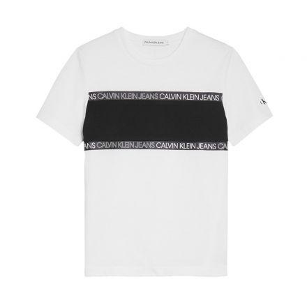 חולצת  Calvin Klein לוגו צבעוני / ילדים