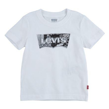 חולצת LEVIS לילדות לוגו שחור
