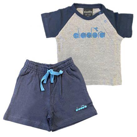 חליפת DIADORA לתינוקות אפור כחול