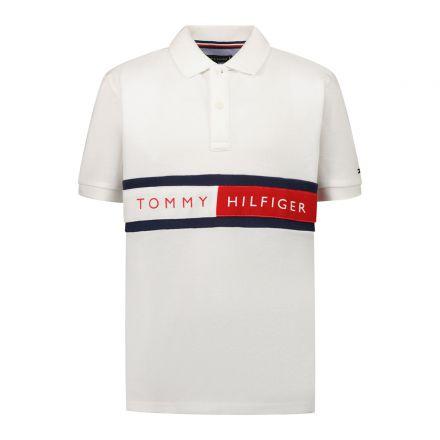 חולצת פולו Tommy Hilfiger הדפס דגל פולו הילפיגר  תינוקות