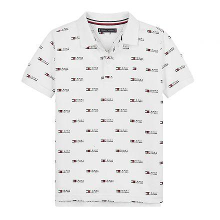 חולצת פולו Tommy Hilfiger פולו AOP / ילדים