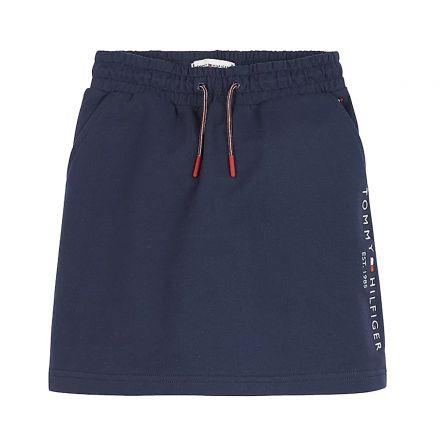 חצאית מידי Tommy Hilfiger ESSENTIAL   / ילדות
