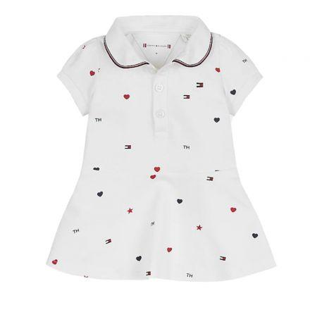 שמלת מידי Tommy Hilfiger T פולו / תינוקות