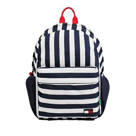 תיק  Tommy Hilfiger עיצוב פסים כחול לבן / יוניסקס ילדים