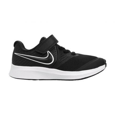 נעלי NIKE לילדים שחור לבן nike star runner