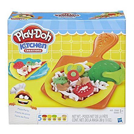 פליידו מסיבת פיצה (גילאים +3) Small World Toys