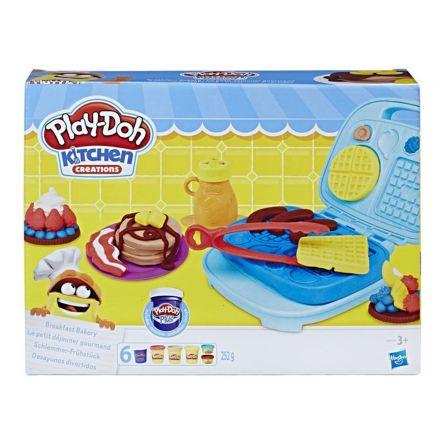 פליידו אומנות המטבח ארוחת בוקר (גילאים +3) Small World Toys