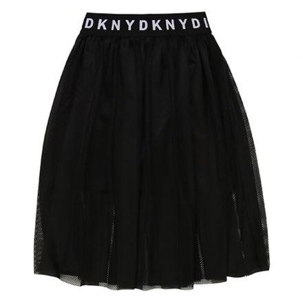חצאית DKNY לילדות חלקה