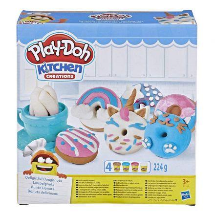 פליידו סט להכנת דונטס (גילאים +3) Small World Toys