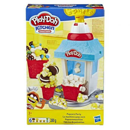 פליידו אומנות המטבח מסיבת פופקורן (גילאים +3) Small World Toys