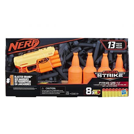 רובה חיצים נרף ALPHA STRIKE FANG TARGET (גילאים +8) Small World Toys