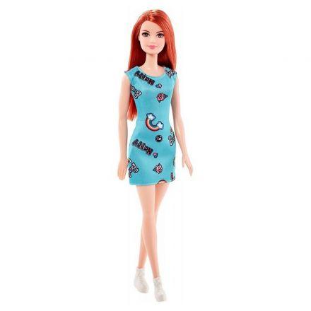 בובת ברבי שמלה ירוקה-(גילאים 3+)
