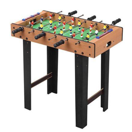 שולחן כדורגל גדול מעץ עם רגליים מבית IPOP