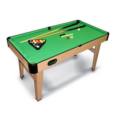 שולחן סנוקר מעץ עם רגליים מבית IPOP