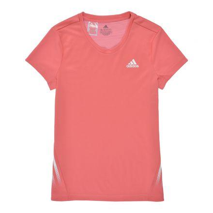 חולצת ספורט ADIDAS לילדות דגם לוגו בצד