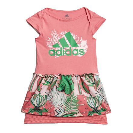 שמלה ADIDAS לתינוקות הדפס פרחים