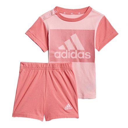 חליפה ADIDAS לתינוקות דגם לוגו מרובע