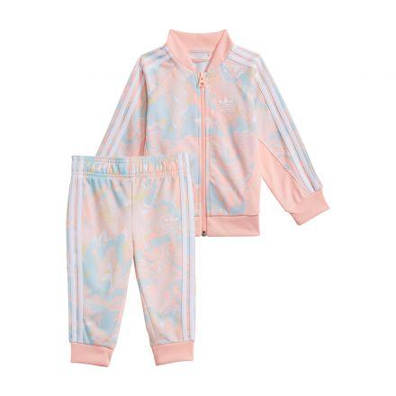 חליפת טרנינג ADIDAS Marble Print לתינוקות