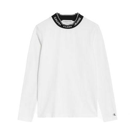 חולצת שרוול ארוך CK INTARSIA לילדות