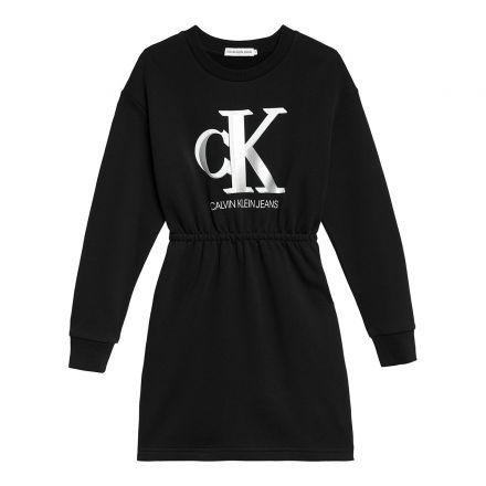 שמלת קפוצ'ון CK MONOGRAM לילדות