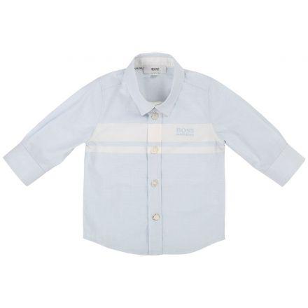 חולצת BOSS לתינוקות מכופתרת
