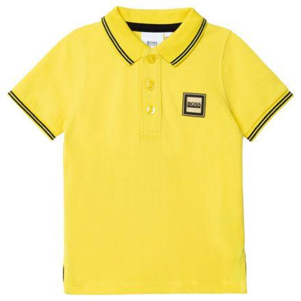 חולצת פולו שרוול קצר HUGO BOSS לוגו בצד לתינוקות