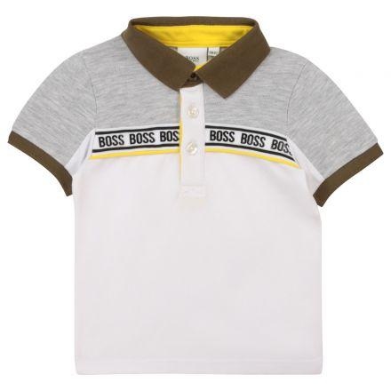 חולצת BOSS לתינוקות צווארון