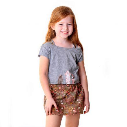 שמלת BOSS לילדות פרחונית