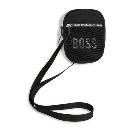 תיק צד BOSS יוניסקס לוגו לבן
