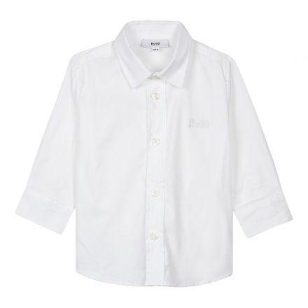 חולצת BOSS לילדים מכופתרת