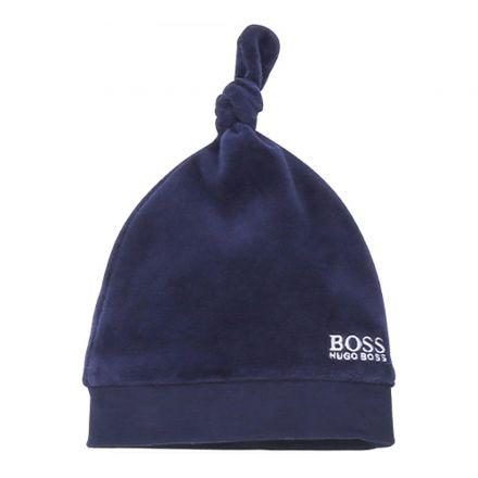 כובע BOSS לתינוקות לוגו בצד