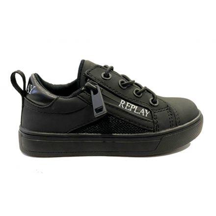 נעלי REPLAY לוגו ברוכסן לילדים