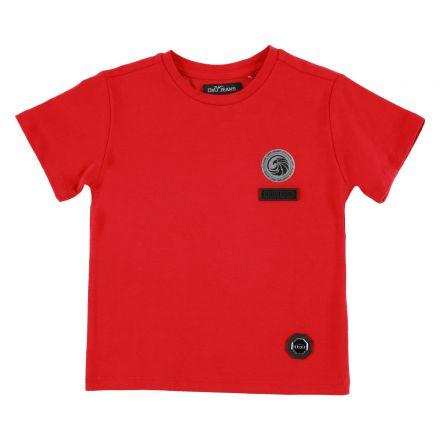 חולצת ORO לוגו עיגול בצד לילדים