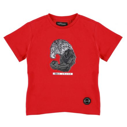 חולצת ORO לוגו נשר לילדים