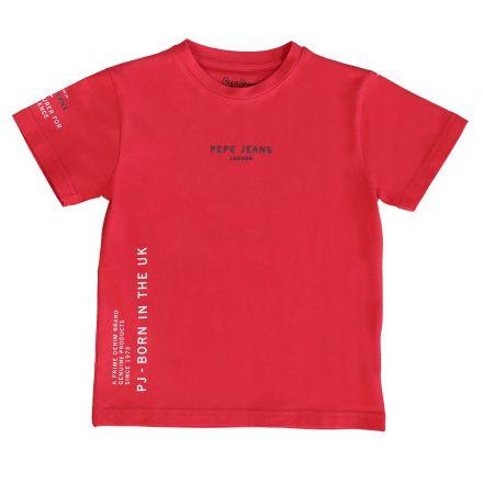 חולצת PEPE JEANS לילדים לוגו