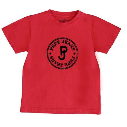 חולצת PEPE JEANS לילדים לוגו עיגול