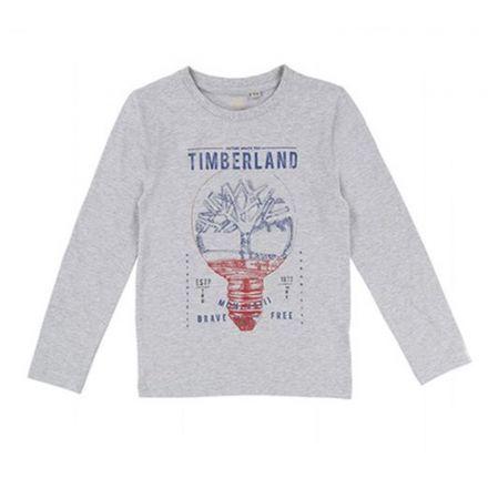 חולצת TIMBERLAND לילדים כיתוב כחול