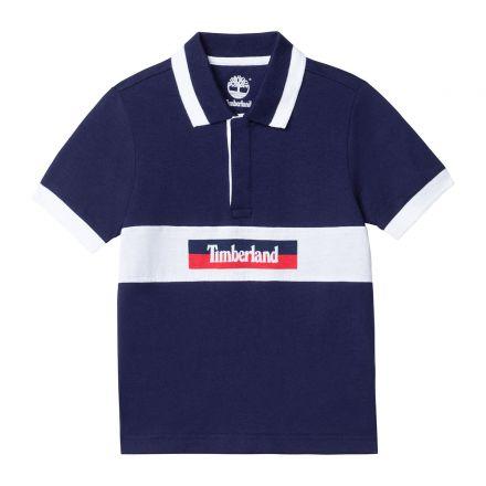 חולצת TIMBERLAND לילדים לוגו באמצע