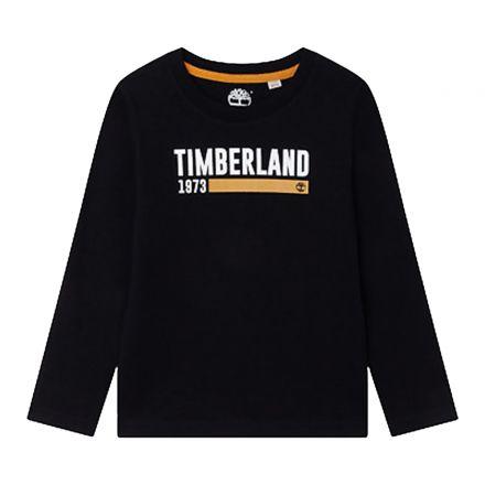 חולצת TIMBERLAND לוגו מותג לילדים