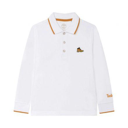 חולצת פולו שרוול ארוך TIMBERLAND THE ICONIC לילדים