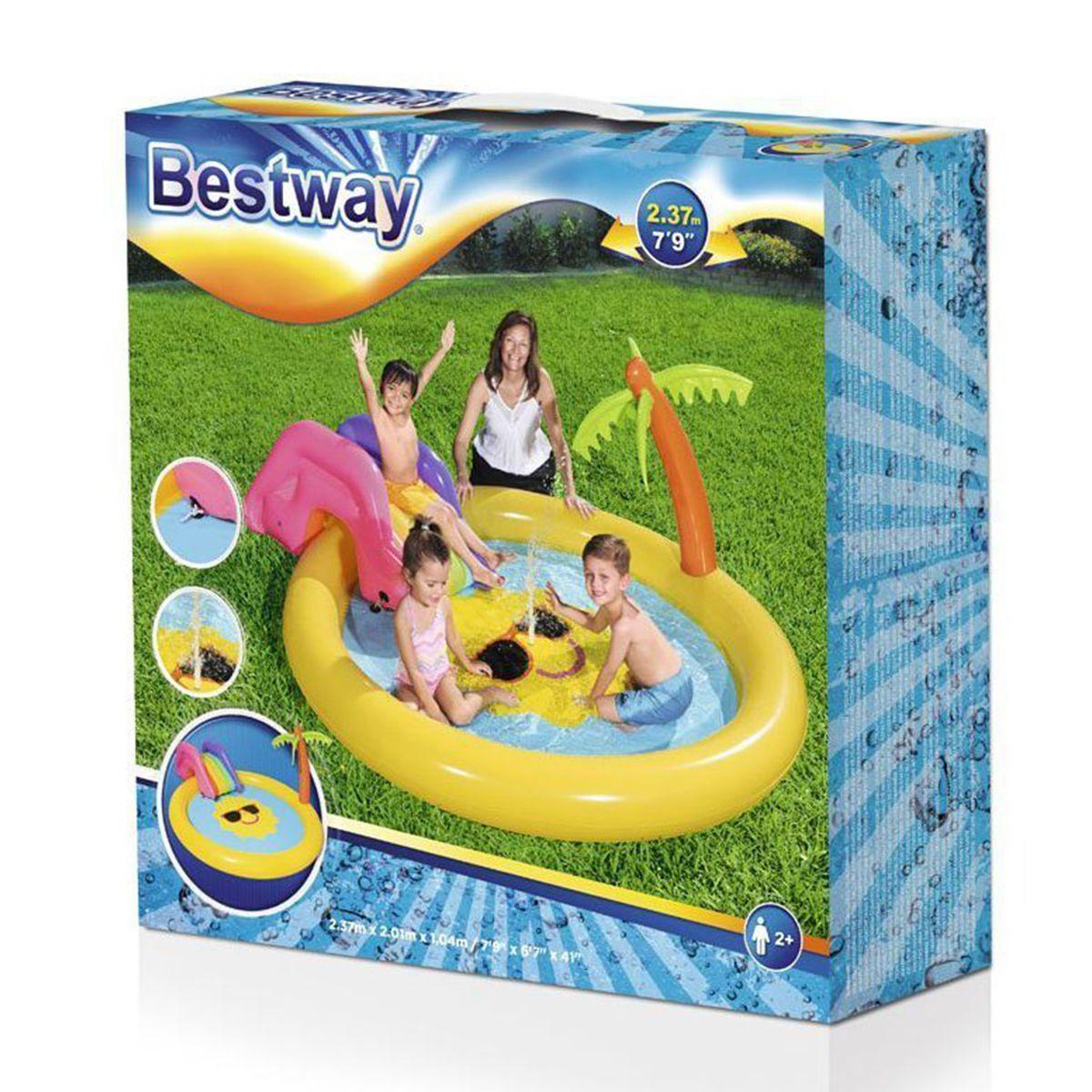 בריכה לילדים בעיצוב שמש Bestway 53071