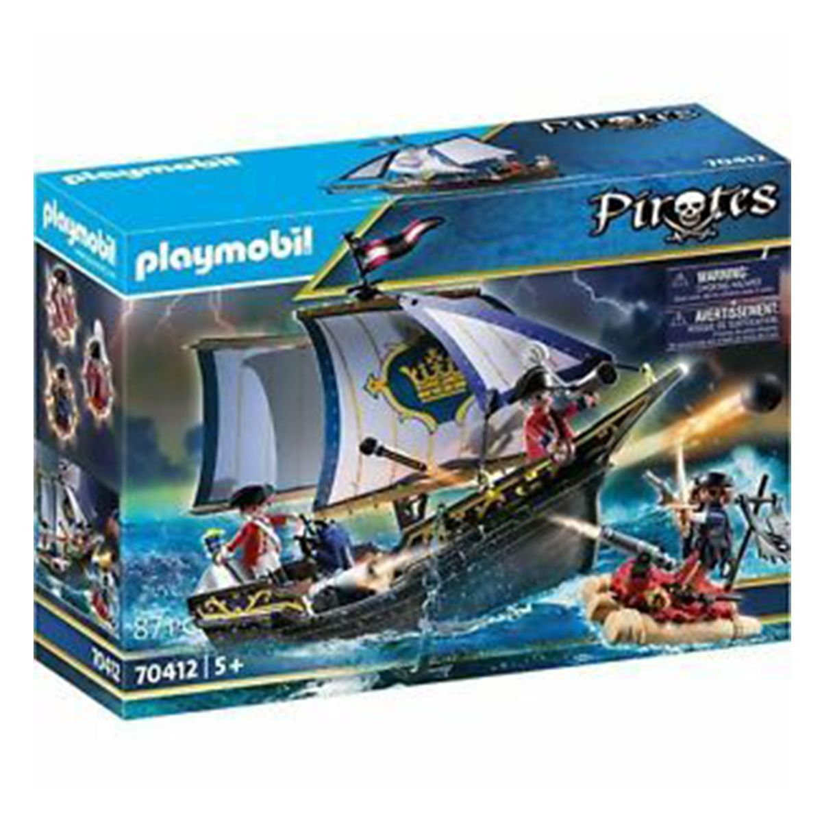 ספינת חיילים בריטיים (גילאים +5) Playmobil 70412